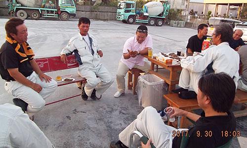 観月会BBQ-西崎工場-
